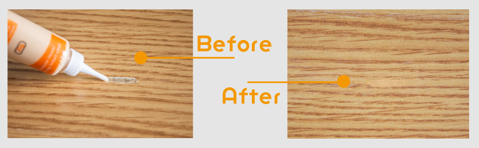 furniture touch up wood scratch cover stain paste wood filler white gray black wood repair oak maple