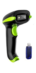 bluetooth barcode scanner bar code reader cordless wireless USB automatic handheld scanning