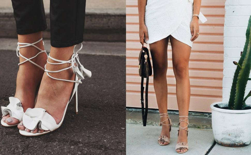 3ce06069c4f Tony Bianco Kalipso Womens Sandals Stiletto Heels Ankle Strap