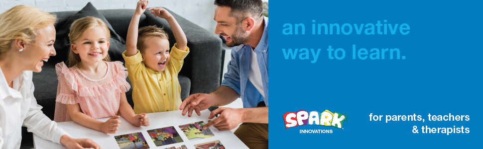 an innovative way to learn spark innovations cards for parents teachers and therapists