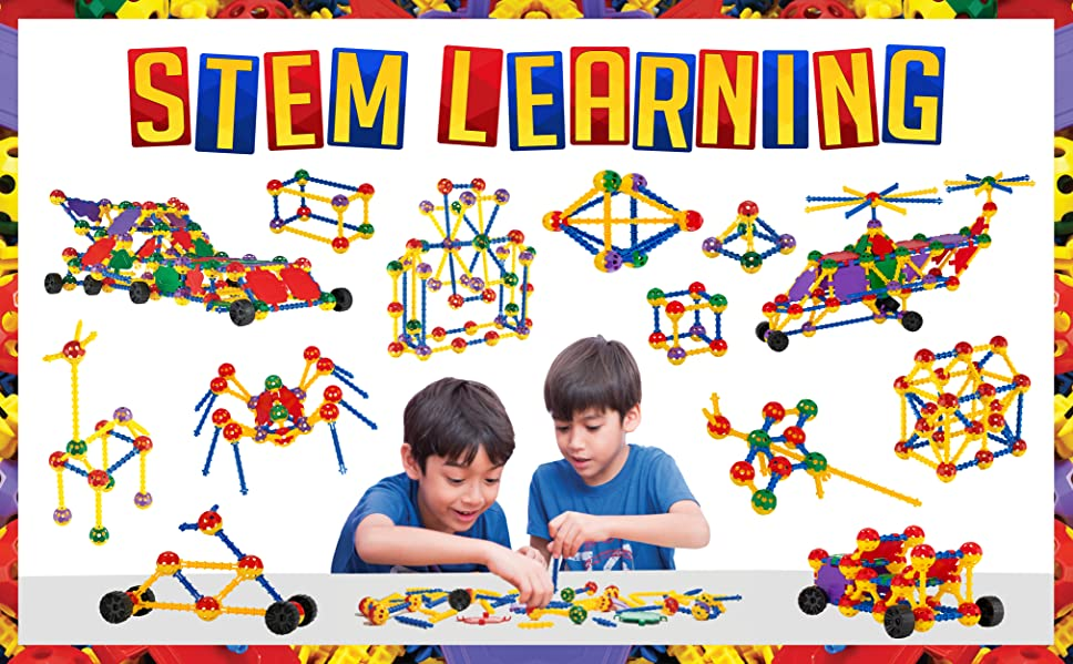 Amazon.com: IQ BUILDER | STEM Learning Toys | Creative