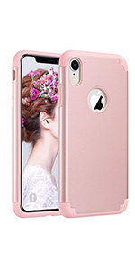iPhone XR case for girls women slim slicone protective bumper cover