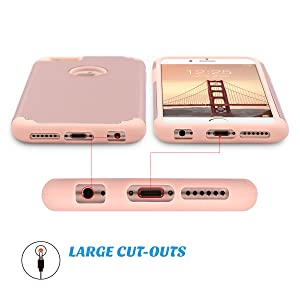 iphone 6 6s case with large cut outs