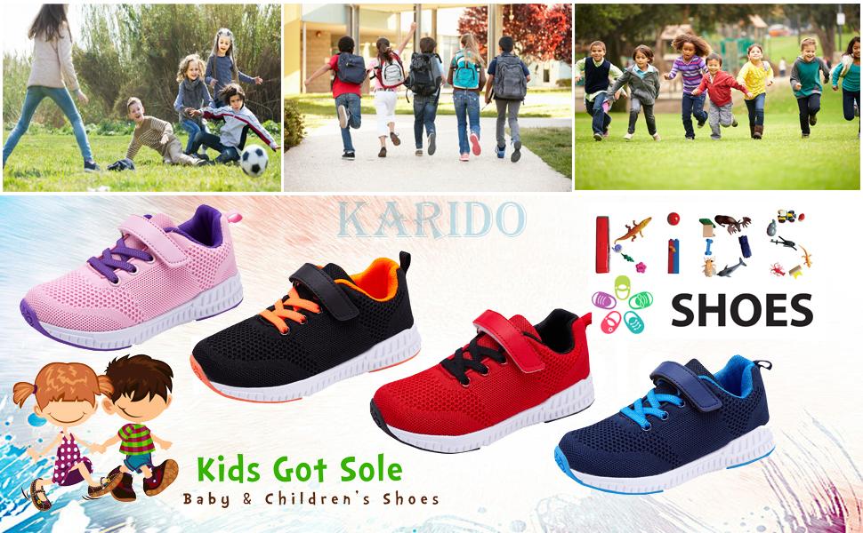 KARIDO Kids Lightweight Breathable