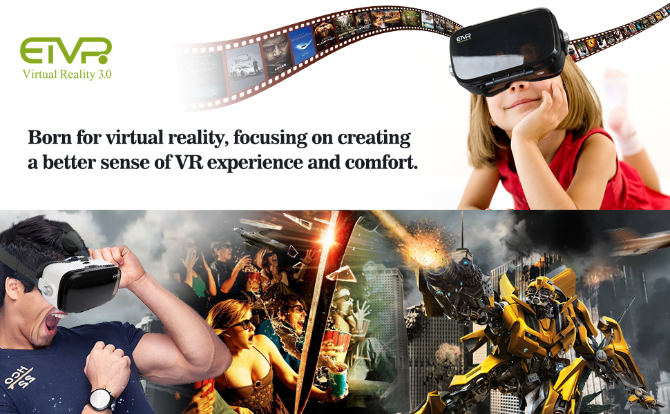 1d039bb64c8 Mobile virtual reality is finally here! With our ETVR Virtual Reality  Glasses