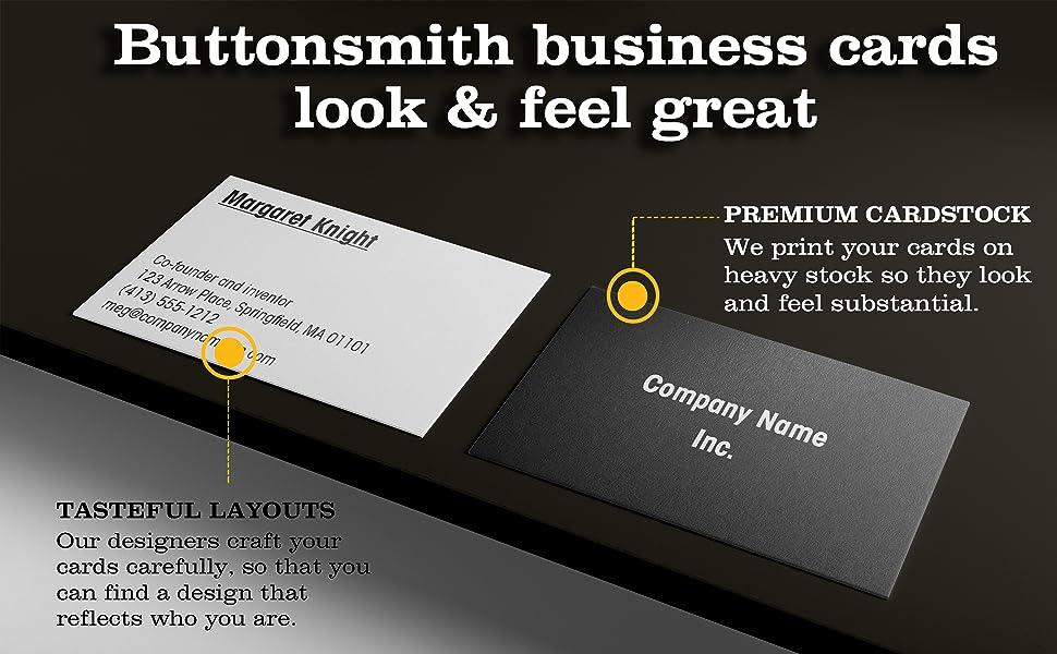 cards on table tasteful business premium