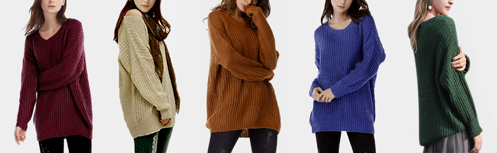 arjosa oversized sweaters