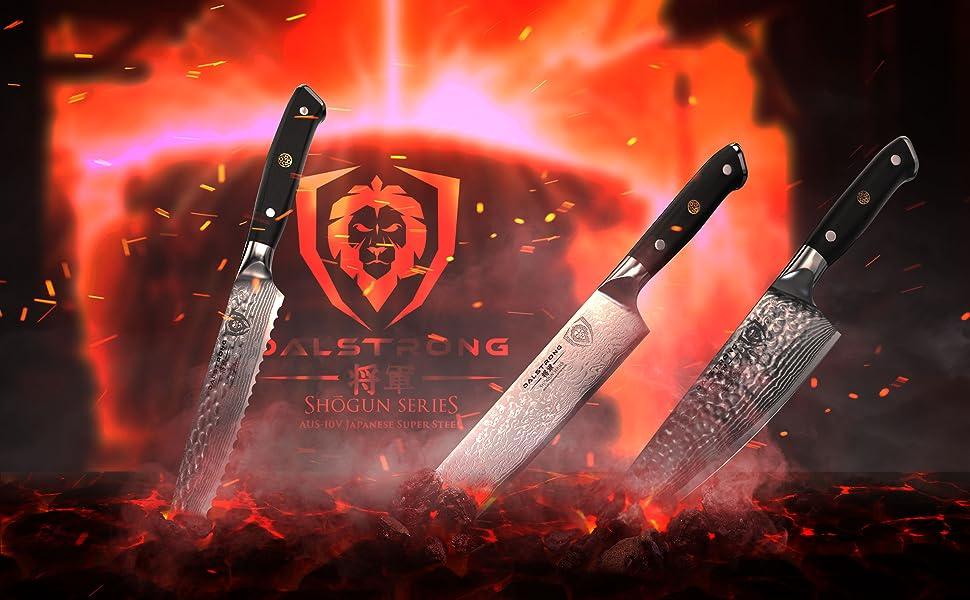 Amazon.com: dalstrong – Juego de cuchillos de carne Shogun ...