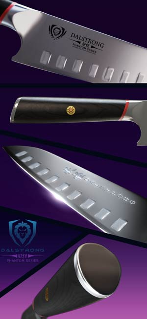 Amazon.com: dalstrong cuchillo Santoku – Phantom Series ...