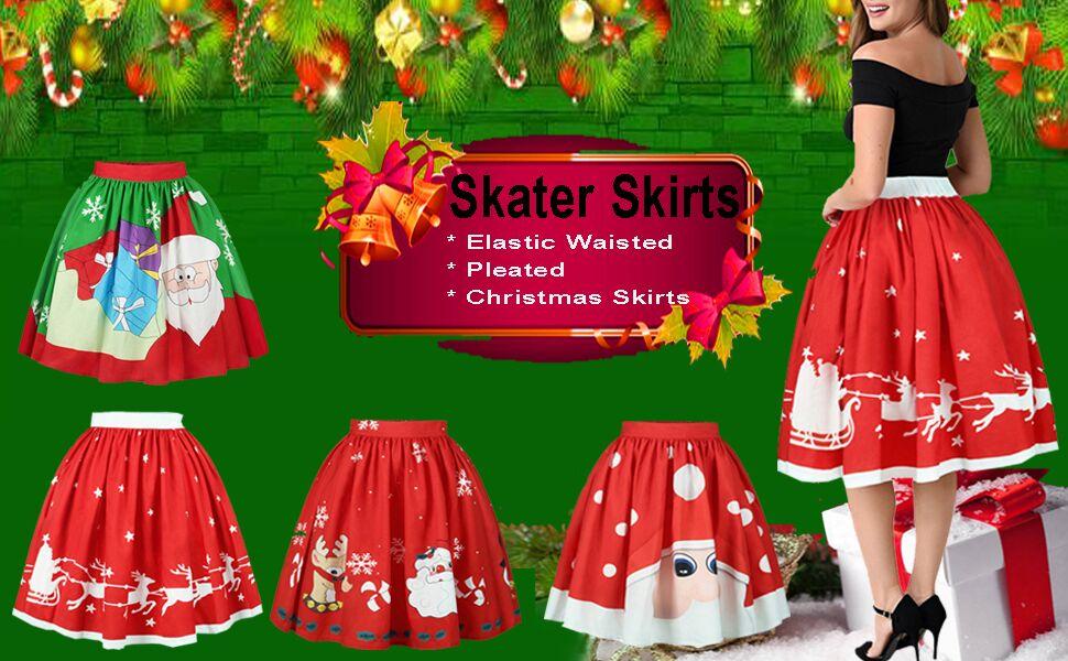 Christmas Tree Tutu Skirt With Star Girl/'s//Women/'s Junior S//M New New