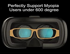 3ce10eff4fe Perfectly Support Myopia Users under 600 degree. Myopia users do not need  to take off their glasses