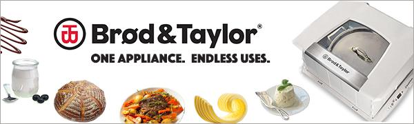Brod and Taylor Folding Proofer Banner
