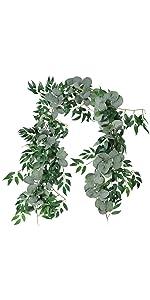 eucalyptus willow garland