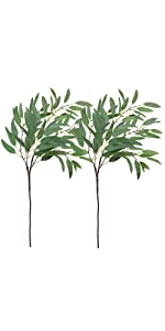 Artificial Eucalyptus Leaves Spray