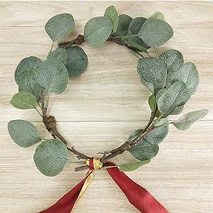 artificial eucalyptus leaves