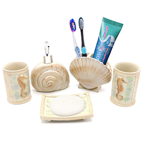 All You Need Is A New Beach Seashell Bathroom Set For Bathroom Remodeling