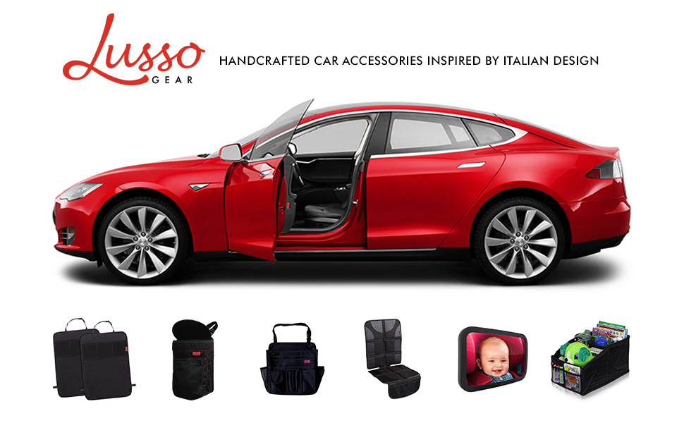 Lusso Gear Handcrafted Car Accessories Inspired by Italian Design