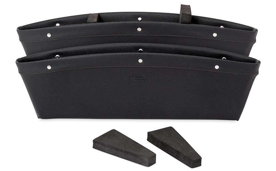 Lusso Gear Car Pocket Organizer Black