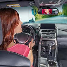 Lusso Gear Back Seat Baby Mirror