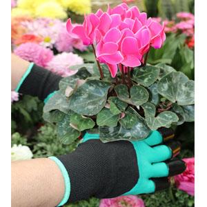 garden gloves green
