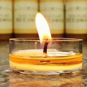 beeswax tea light candles