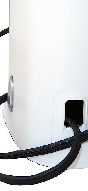 power cord storage