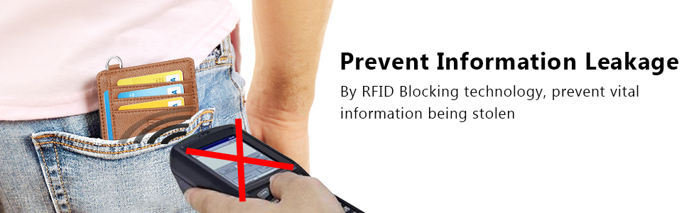 RFID Blocking,  personal informations security