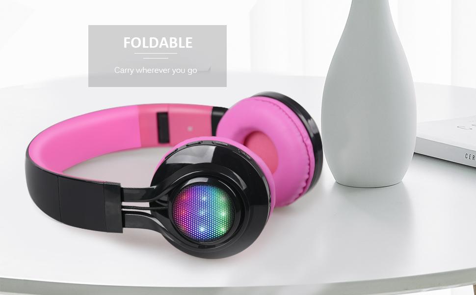 Wireless headphones gold and black - rose gold headphones cord