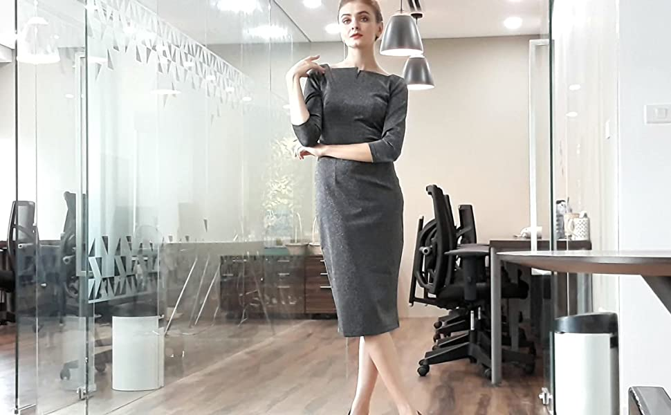 pencil dress, women's dress, work dress, office dress, dresses, cocktail dress, party dress
