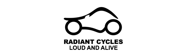 Radiant Cycles Shorty GP Exhaust Loud And Alive Loudandalive Short Motorcycle Muffler Slipon Pipe