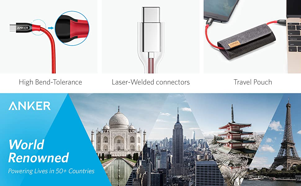 Anker Powerline+ C to C 2.0 cable [A8188091] Pakistan brandtech.pk