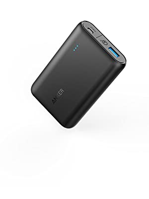 [Upgraded with PowerIQ] Anker PowerCore Speed 10000 QC, Qualcomm Quick Charge 3.0 Portable Charger, 10000mAh Power Bank for Samsung, iPhone, iPad and ...