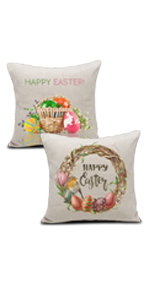 Easter pillow cases