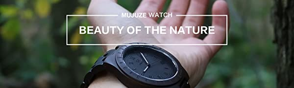 Enjoy Your Time with MUJUZE Wood Watches.