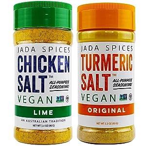 turmeric and lime vegan chicken salt all purpose seasoning flavors
