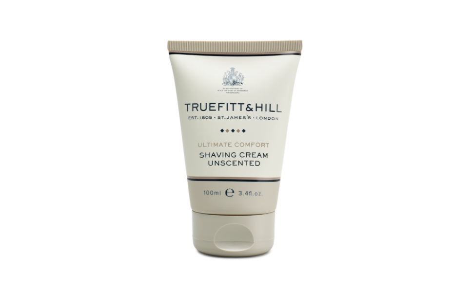 Truefitt amp; Hill Ultimate Comfort Shaving Cream Travel Tube, 3.38oz