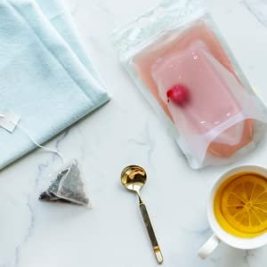 drink pouch, frozen smoothie bags