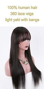 360 yaki wigs with bangs