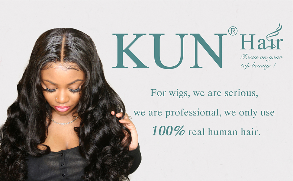KUN Hair wigs