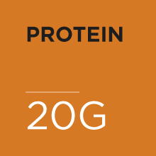20 grams of protein per serving