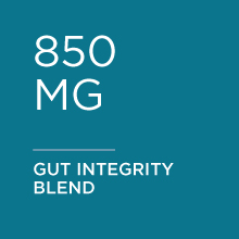 850 mg of gut integrity blend