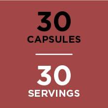 30 Capsules, 30 Servings
