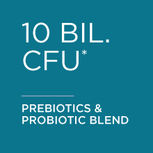 10 billiion CFU prebiotic and probiotic blend