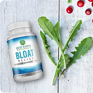 Bloat best earth naturals PMS vitamins bloated stomach relief water pills diuretic