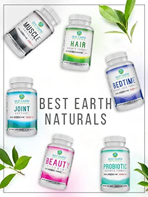 Best Earth Naturals Vitamins Supplements hair care products probiotics  catalase gray hair