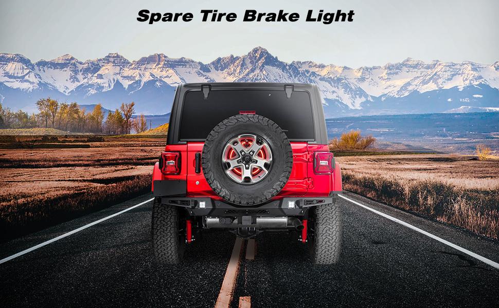 Jeep Spare Tire Brake Light