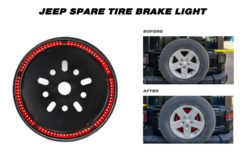 jeep third brake light