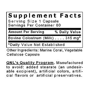 Amazon.com: Quantum calostral, 60 Veg tapas – pesticide ...