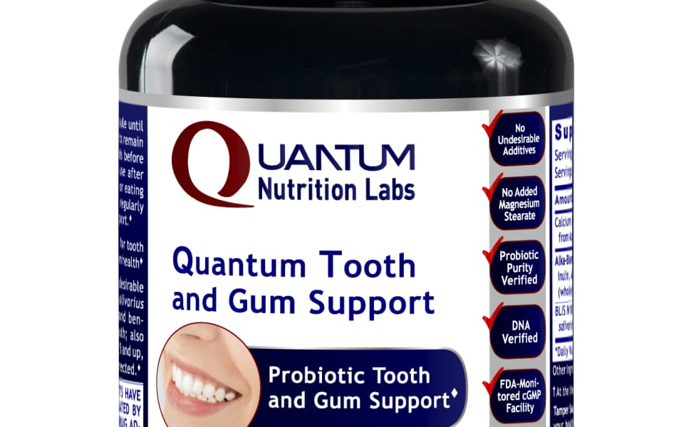 tooth and gum probiotic