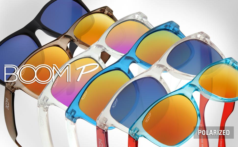c5eda0019a Amazon.com  Boom Spectrum Polarized Sunglasses by Dimensional Optics ...